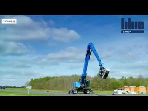 Terex Fuchs MHL360 Material Handler On Top Gear