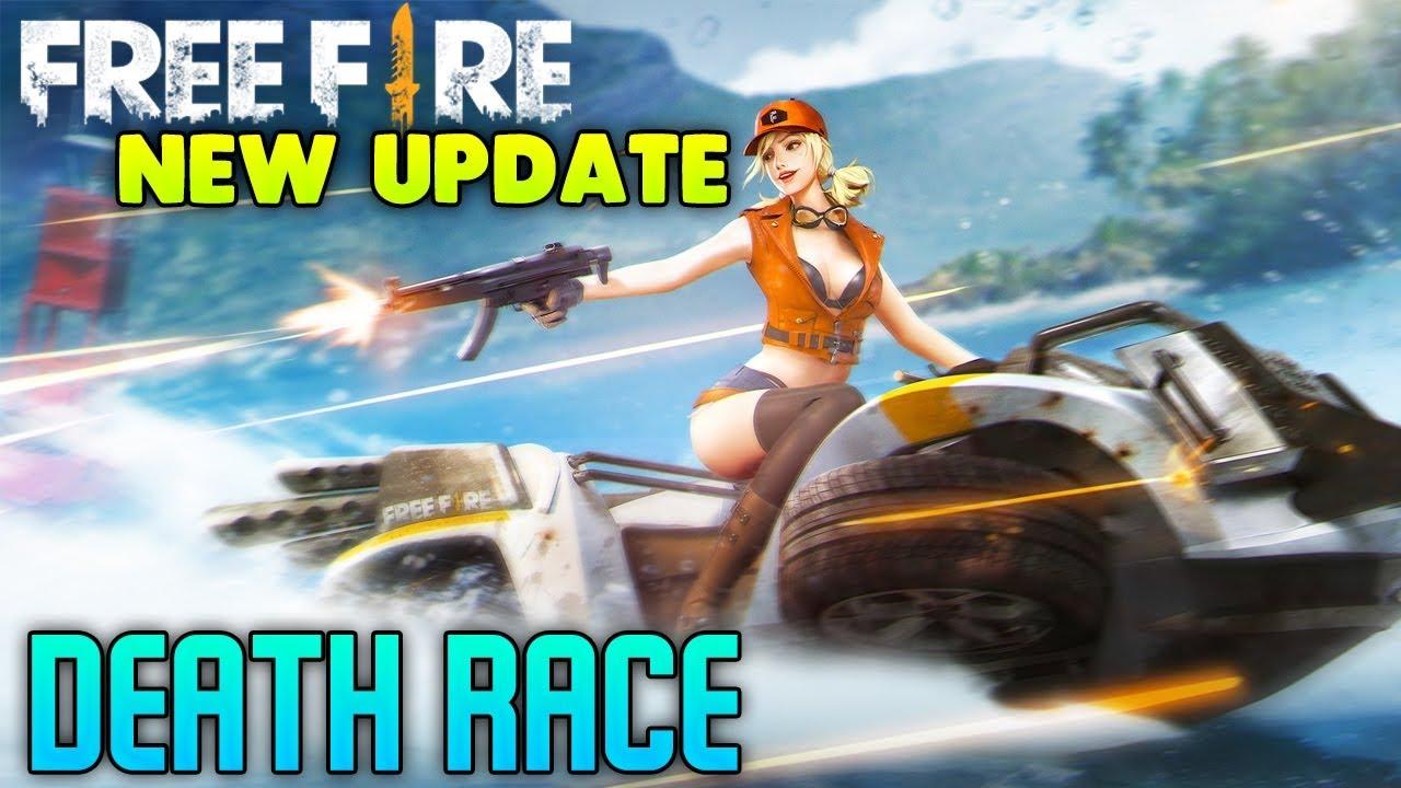 Free Fire Battlegrounds Race Mode Gameplay
