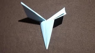 How Make Simple Origami Helicopter