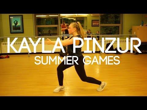 Kayla Pinzur - Summer Games | Kinematix Summer 2018 Workshop Series