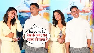 Akshay Kumar Back To Back Hilarious Funny Moments With Kareena  At Good News Trailer Launch