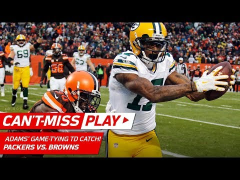 Crazy Punt Return Sets Up Hundley's Game-Tying TD Toss to Adams! | Can't-Miss Play | NFL Wk 14