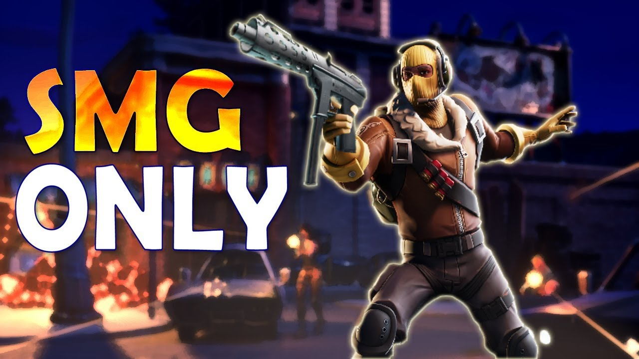 AGGRESSIVE PLAY | SMG ONLY CHALLENGE - (Fortnite Battle ... - 1280 x 720 jpeg 127kB