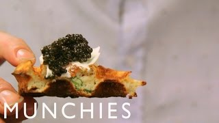 Flounder, XO Pippies & Caviar Waffles: Chef's Night Out with Andrew McConnell