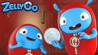 Zelly Go - Bad Coin | HD Full Episodes | Funny Videos For Kids | Videos For Kids