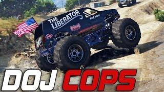 Dept. of Justice Cops #254 - Monster Jam (Criminal)