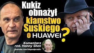 Kukiz obnażył kłamstwo Suskiego o Huawei? IDŹ POD PRĄD NA ŻYWO 2019.09.12
