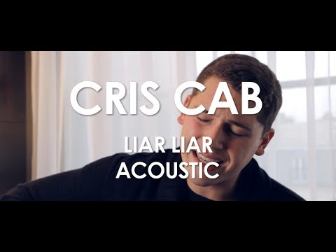 Cris Cab - Liar Liar - Acoustic [ Live in Paris ]