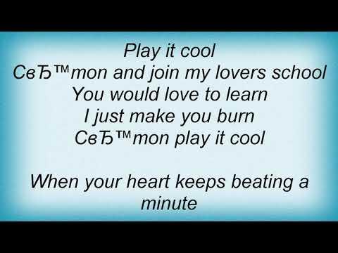 Billy Fury - Play It Cool Lyrics