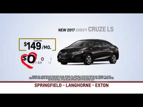 Reedman Toll Auto Group Chevrolet September 2017 Specials