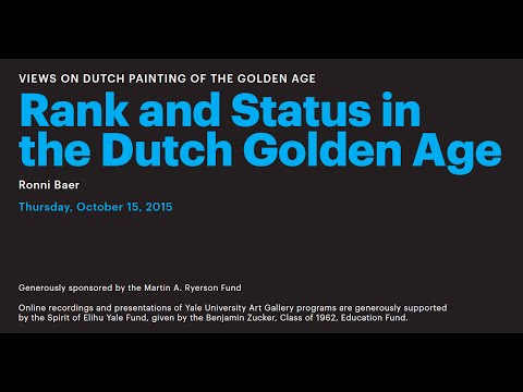Rank And Status In The Dutch Golden Age