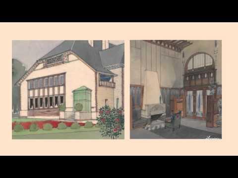 JOSEPH MARIA OLBRICH-THE ARCHITECTUAL DREAMS OF JUGENDSTIL