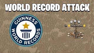 WORLD RECORD ATTACK CLASH OF CLANS!