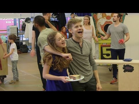 Sneak Peek at Andrew Keenan-Bolger and Carolee Carmello in Broadway's Tuck Everlasting