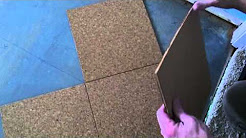 Cork Floor Install - How to install a cork glue down floor.