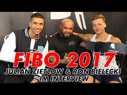 FIBO 2017 Julian Zietlow & Ron Bielecki - Rons Social Media Fame, Freundschaft & Business