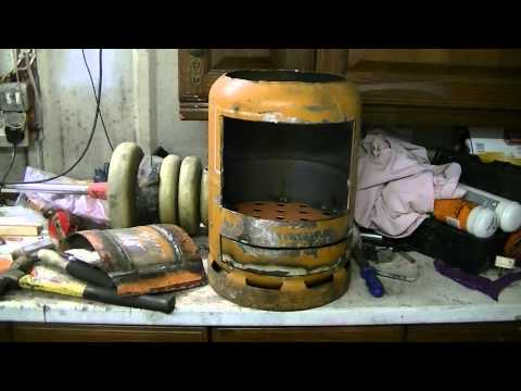 My Home Made Wood Burning Boiler Youtube