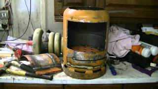 My Home made Wood Burning Boiler