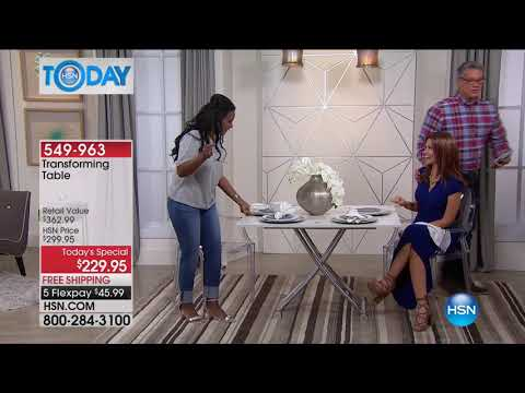 HSN | HSN Today: Home Transformations featuring Concierge Collection 08.22.2017 - 08 AM