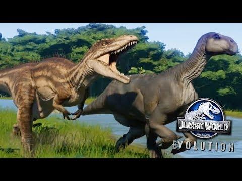 NEW DINOSAURS IN JURASSIC WORLD EVOLUTION! - Cretaceous Dinosaur DLC