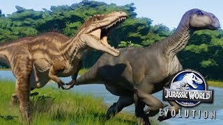 NEW DINOSAURS IN JURASSIC WORLD EVOLUTION! - Cretaceous Dinosaur DLC
