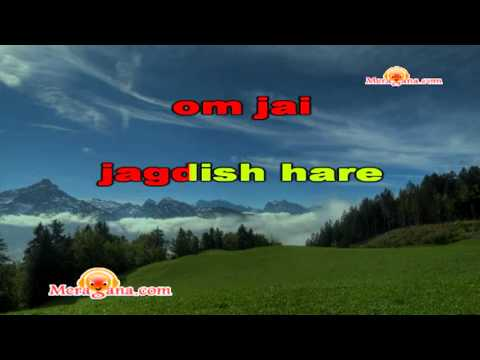 Karaoke Of Om Jai Jagdish Hare By MeraGana.com