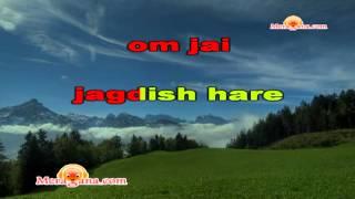 Karaoke of Om Jai Jagdish Hare by MeraGana.com