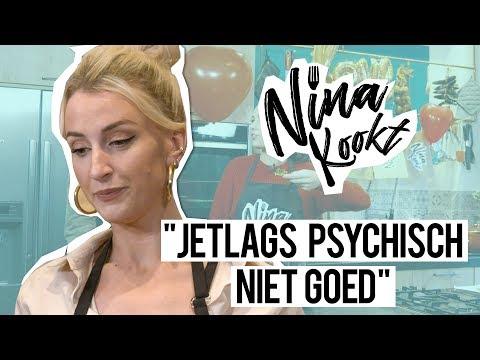 NINA WARINK & QUEEN of JET LAGS over haar GEWICHT  Nina kookt - CONCENTRATE VELVET