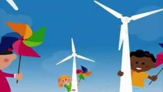 Nos enfants chantent l'éolienne