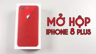 Mở hộp iPhone 8 Plus Product Red: Màu sắc đẹp nhất của iPhone 8 Plus