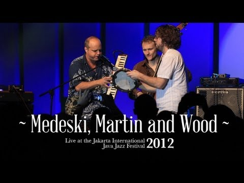 "Medeski Martin & Wood ""I Wanna Ride You"" live at Java Jazz Festival 2012"
