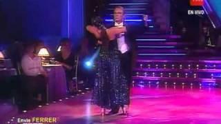 """Andres de león  """" Nostalgia"""" ( Tango Argentino) El baile en tvn"""