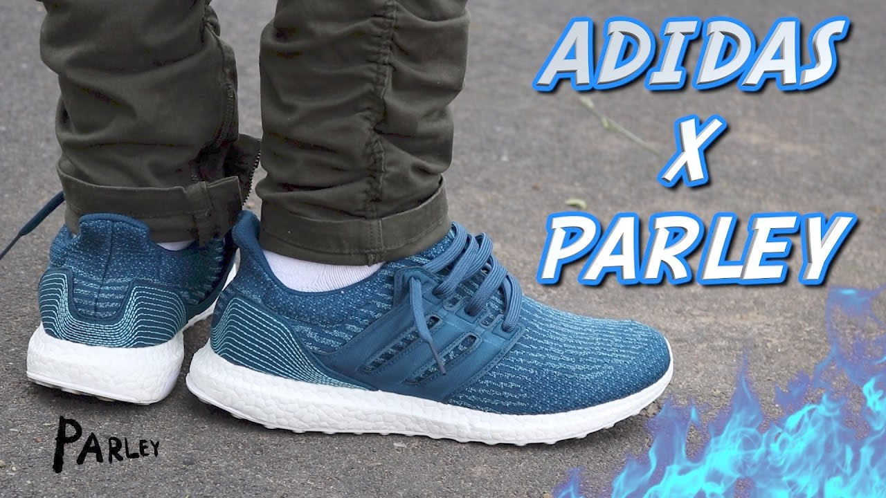 0db5aace22eed ADIDAS X PARLEY ULTRABOOST 3.0 REVIEW WITH ON-FOOT - YouTube