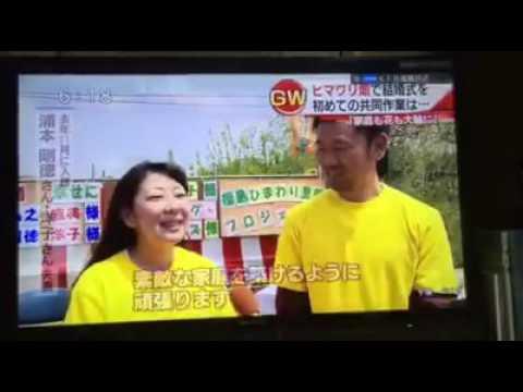 ニュース映像]ひまわり結婚式201...