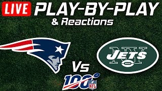 Patriots vs Jets | Live Play-By-Play & Reactions
