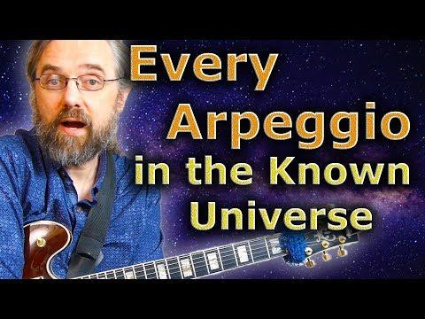 Every Arpeggio in the Known Universe