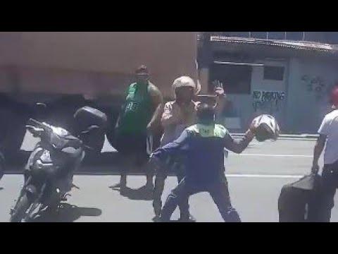 Enforcer vs Rider, Sa bacoor Cavite Nag kainitan