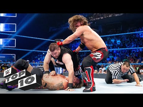 Stolen pinfall victories: WWE Top 10, April 30, 2018