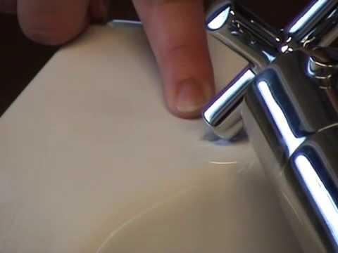 Inloopdouche Met Bak : Herstellen van schade aan douche bak multischadeplan youtube