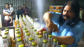Pappu Jee Lemon Soda Water, Murree Road Rawalpindi | Making 3000 Lemon Soda Water Daily | Lemon Soda