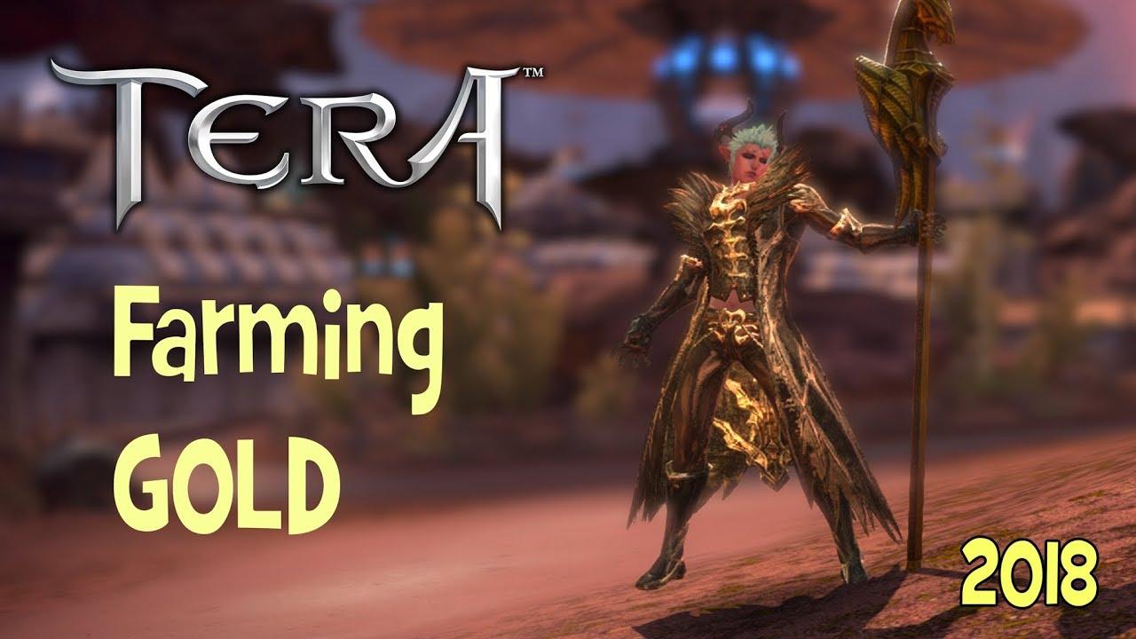 tera gold farm