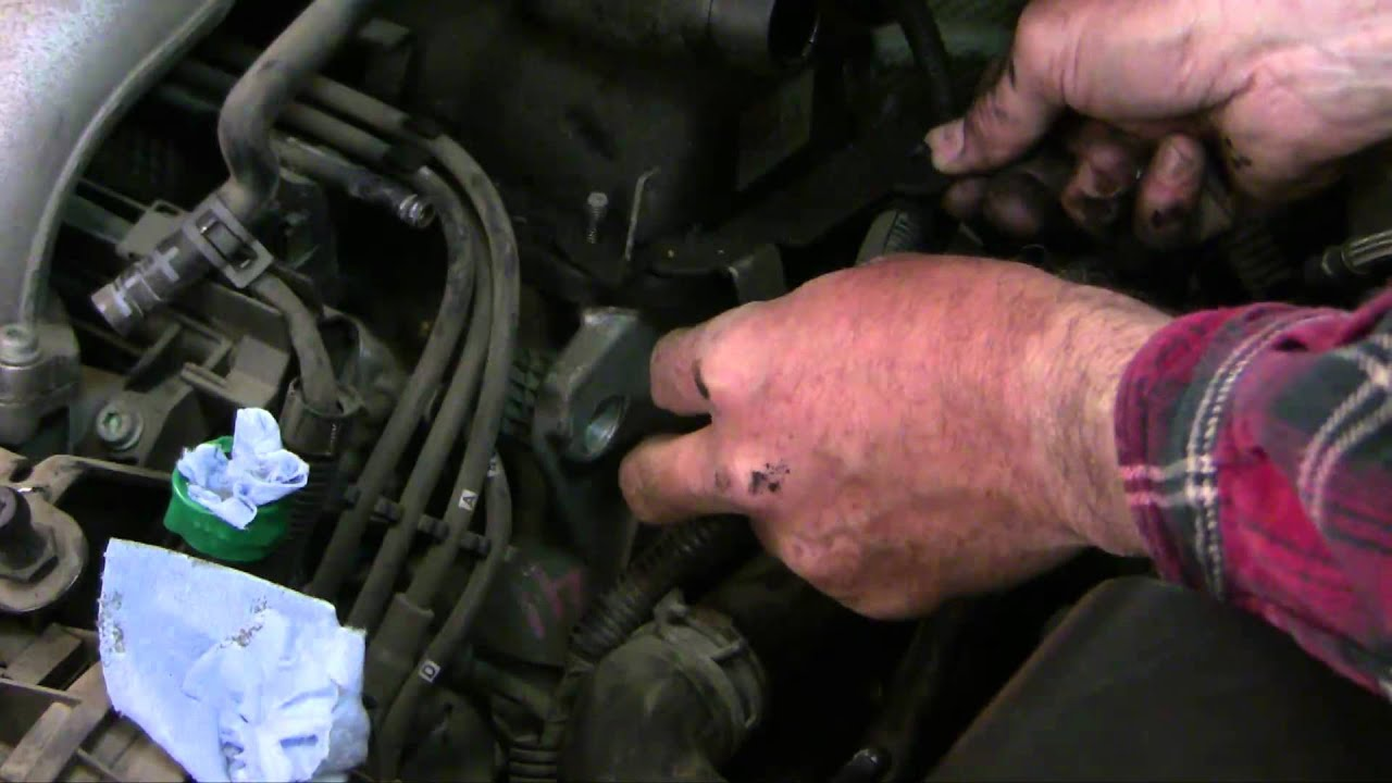 Vw Jetta Coolant Leak Repair Youtube