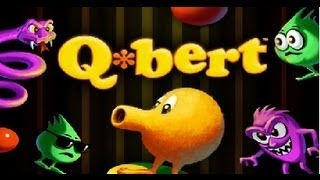 Classic Arcade Game Q*bert on PS3 in HD 1080p