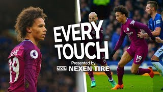 LIGHTNING LEROY | EVERY TOUCH | Everton 1-3 City