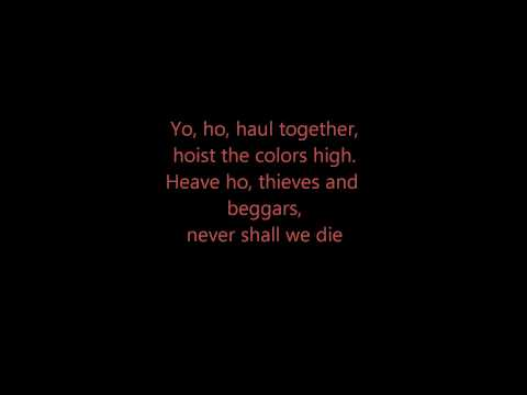 Hoist the colors - Lyrics