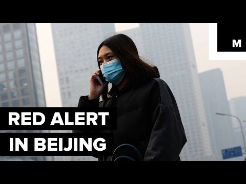 Beijing Issues Its First Red Alert For Smog