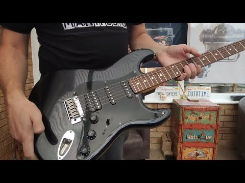 Squier Standard Stratocaster HSS Review Demo