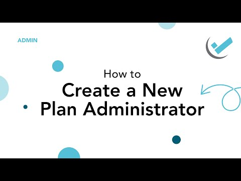 Simply Solutions | Admin | Create a New Plan Administrator