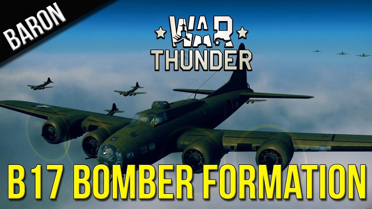 War Thunder Gameplay - War Thunder - B-17 Flying Fortress ...