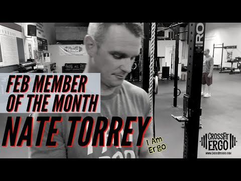 February 2020 Member of the Month Nate Torrey